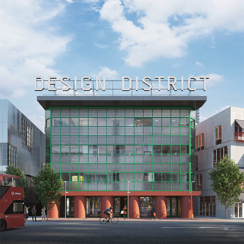VISUALS REVEALED OF EIGHT ARCHITECTS' GREENWICH DESIGN DISTRICT BUILDINGS