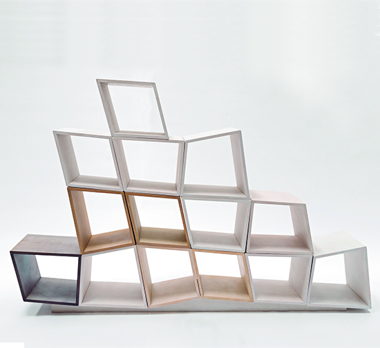CUBES BOOKSHELVES